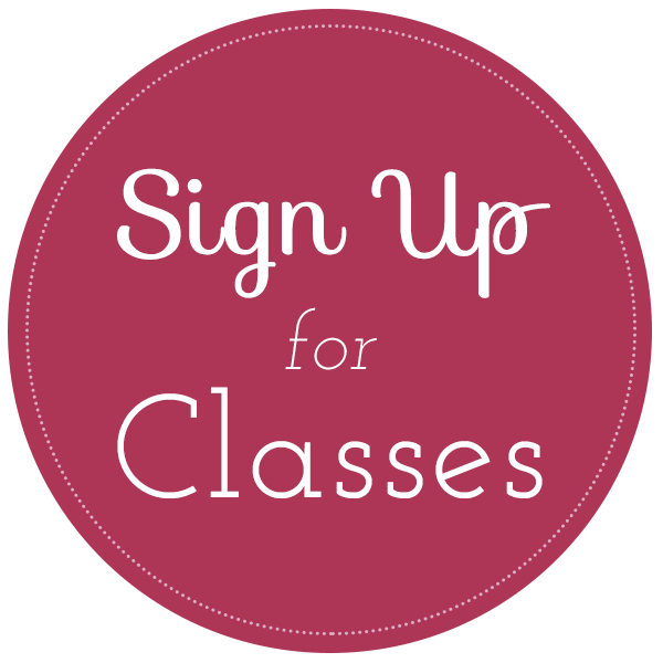 Sign Up For Classes!
