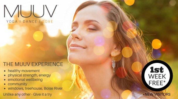 boise yoga coupon - MUUV Yoga Boise - 1 free week