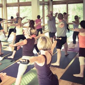 yoga class MUUV Yoga Boise vinyasa-flow
